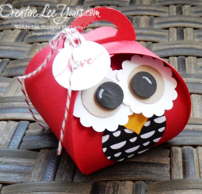 curvy keepsake love owl by wendy lee, #creativeleeyours, Stampin' Up!
