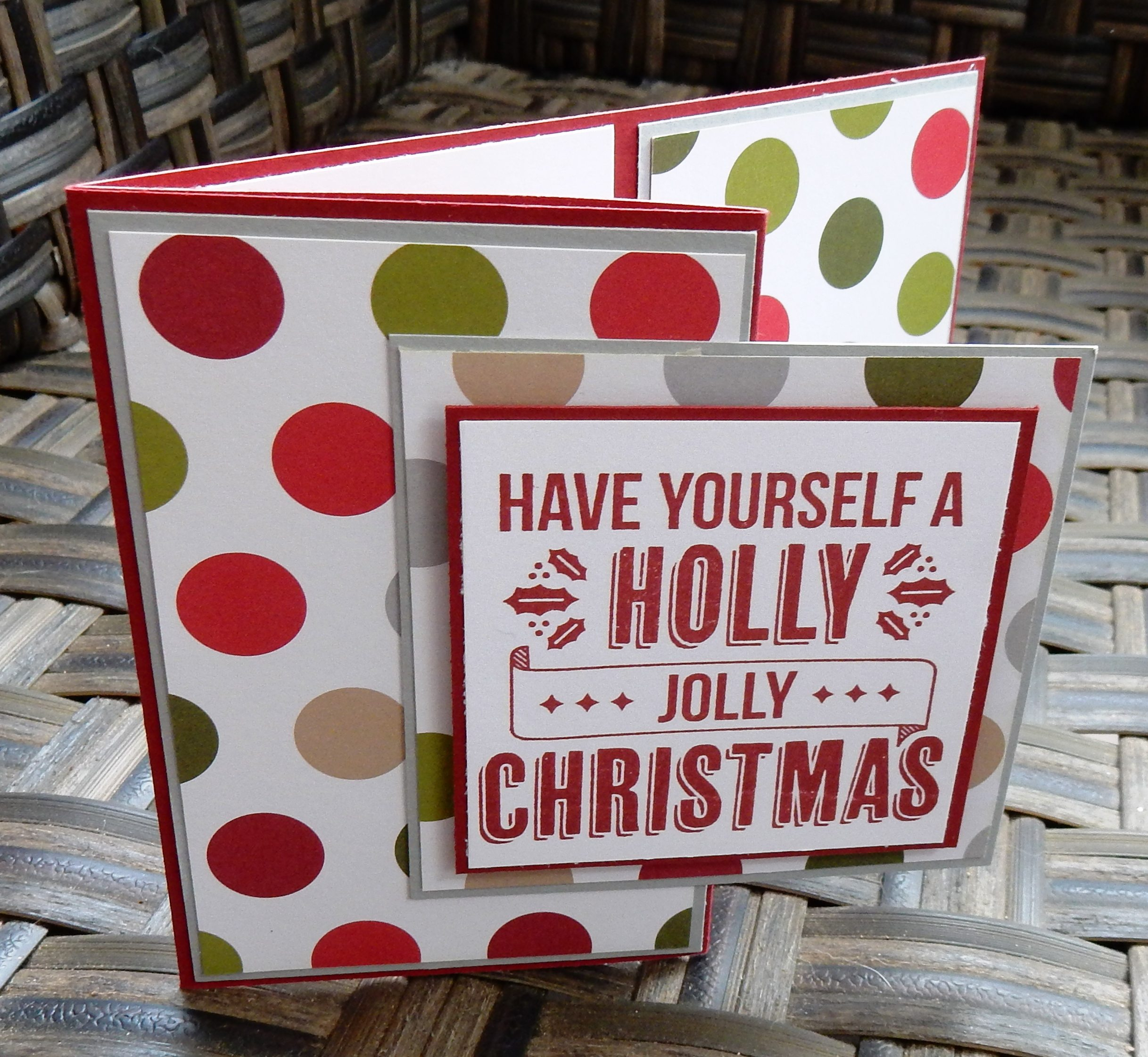 Holly Jolly Christmas Gift Card Holder - Creativelee Yours