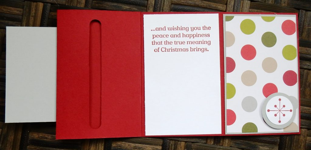Holly Jolly Christmas Gift Card Holder by Wendy Lee, #creativeleeyours, Stampin' Up!, Christmas, Jolly Christmas stamp set