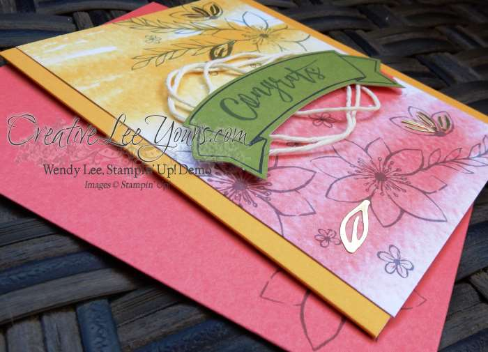 October 2015 Paper Pumpkin Blissful Bouquet Kit by Wendy Lee, #creativeleeyours, Stampin' Up!