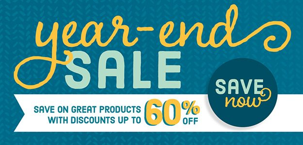 Year End Sale, Stampin' Up!, #creativeleeyours