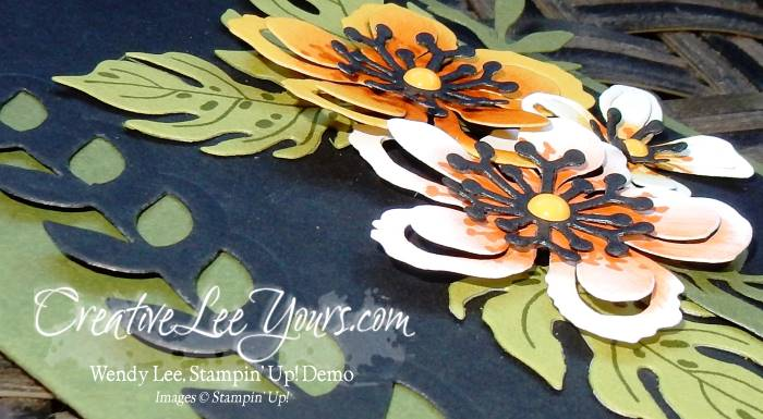 Botanical Just for You by Wendy Lee, Jan 2016 FDMN, # creativeleeyours, Stampin' Up!, Botanical Blooms stamp set