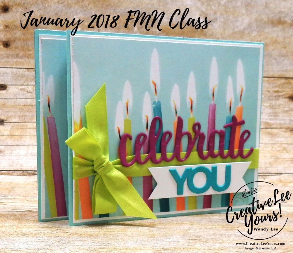 Celebrate you wiper by wendy lee,stampin up, stamping, fun fold, january 2018 fmn class, pop up card, handmade. celebrate you thinlits, fun birthday card, perennial birthday stamp set, rubber stamps