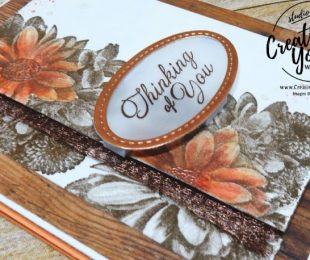 Thinking of You Blooms by Wendy Lee, stampin up, #creativeleeyours, creatively yours, hand stamped, thinking of you, watercoloring, heartfelt bloomsstamp set, SAB,Sale-A-bration, Jan 2018 FMN card class, kylie bertucci international highlights, stamping