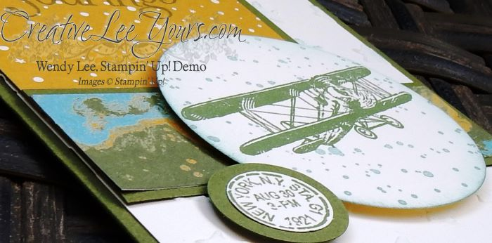 You Send Me Soaring by Sheila Tatum, Stampin' Up!, #creativeleeyours, Diemonds team swap, Sky is the Limit