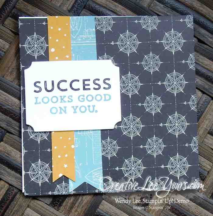 Suite Sayings Notecards by Jennifer Harrell, #creativeleeyours, Stampin' Up!, Diemonds team swap
