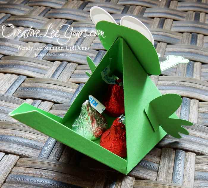 Happy Frog by Stephanie Daniel, #creativeleeyours, Stampin' Up!, Diemonds team swap, Playful Pals stamp set, Pyramid Pals Thinlits