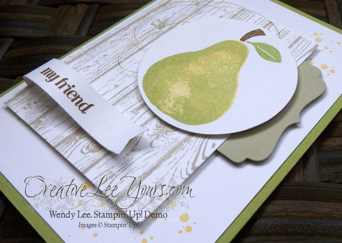My Friend by Wendy Lee, #creativeleeyours, Apple of my eye stamp set, Stampin' Up!, Diemonds team meeting