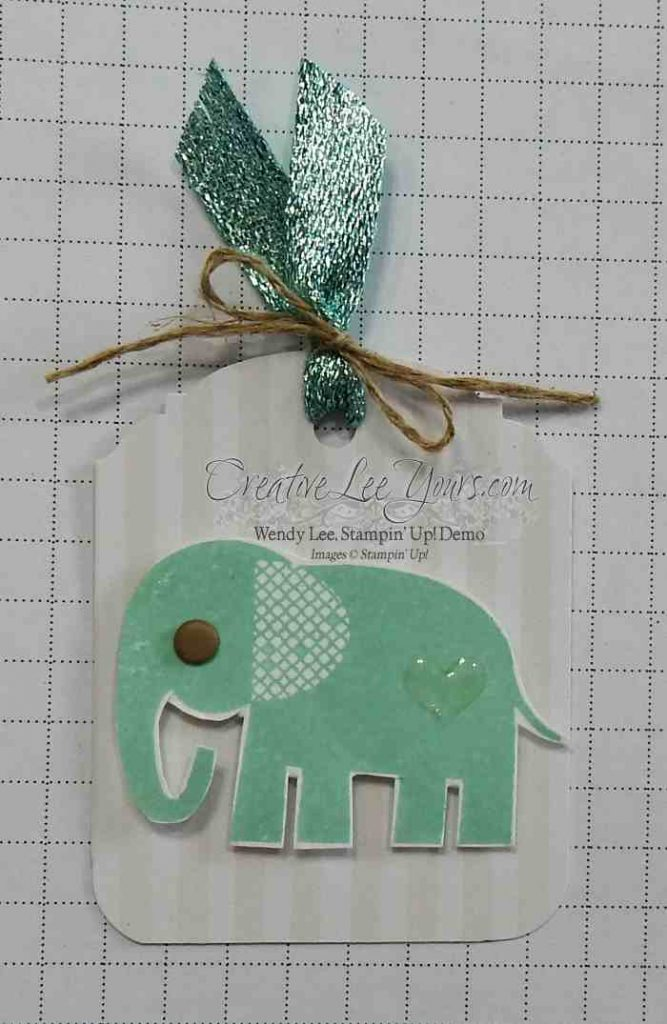 Something Cute by Wendy Lee, Zoo Babies stamp set, Stampin' Up!, #creativeleeyours, baby card