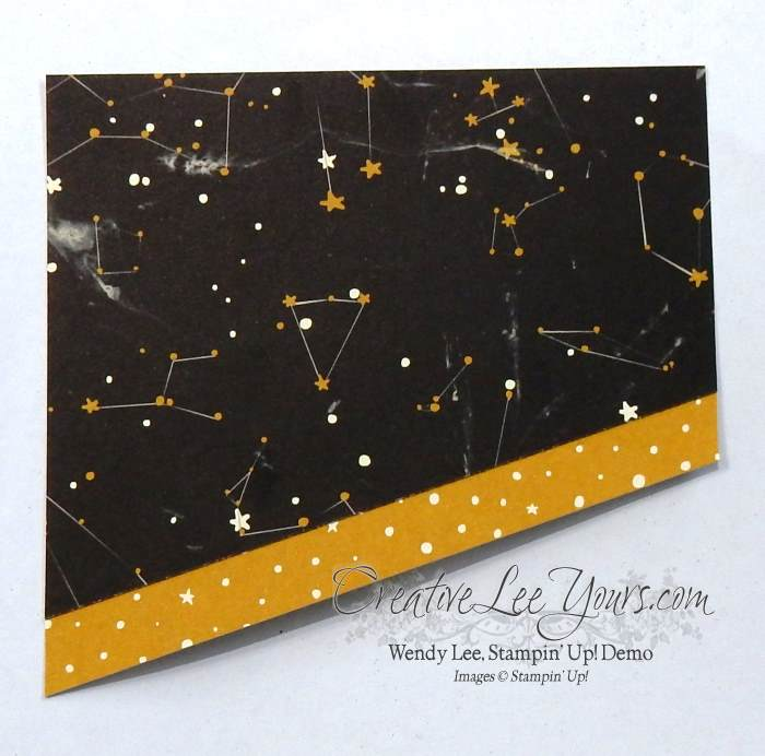 Lucky Stars by Wendy Lee, #creativeleeyours, Stampin' Up!, Going Global stamp set, Masculine card