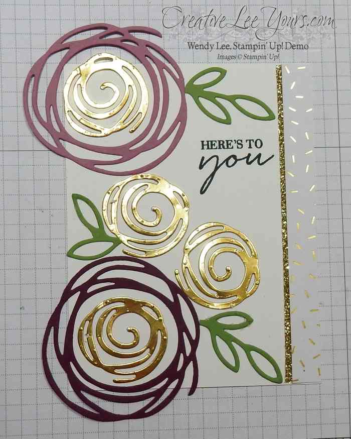 2016 incentive trip swap by Wendy Lee, #creativeleeyours, Stampin Up, Swirly bird stamp set