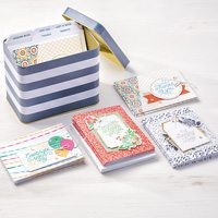 designer tin of cards, Stampin up, project kit, cards, #creativeleeyours, wendy lee