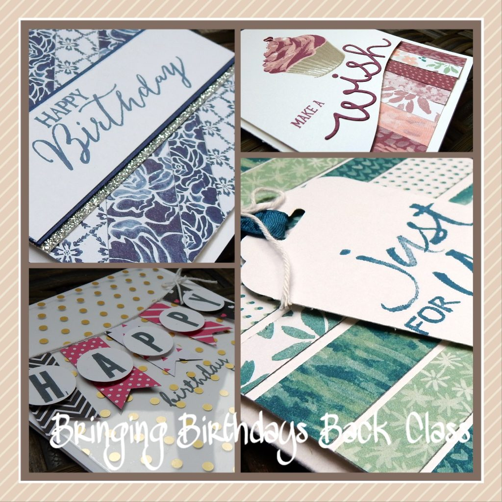 Bringing Birthdays Back DSP Scraps by Wendy Lee, Stamping, Stampin Up, #creativeleeyours, Birthday Cards