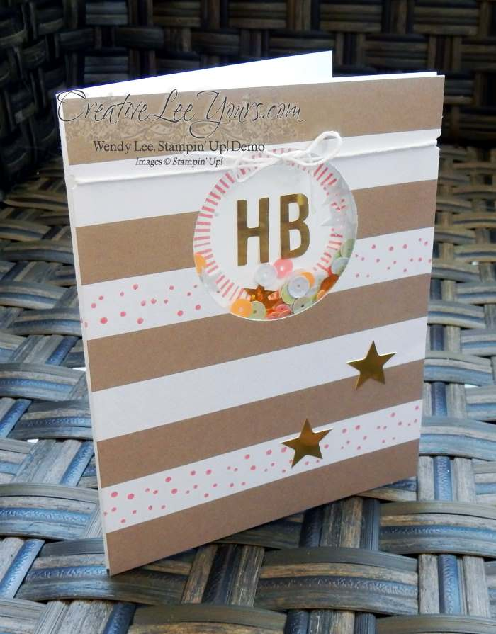 June 2016 Paper Pumpkin Banner Surprise Kit by Wendy Lee, Stampin Up, Stamping, hand made cards, #creativeleeyours