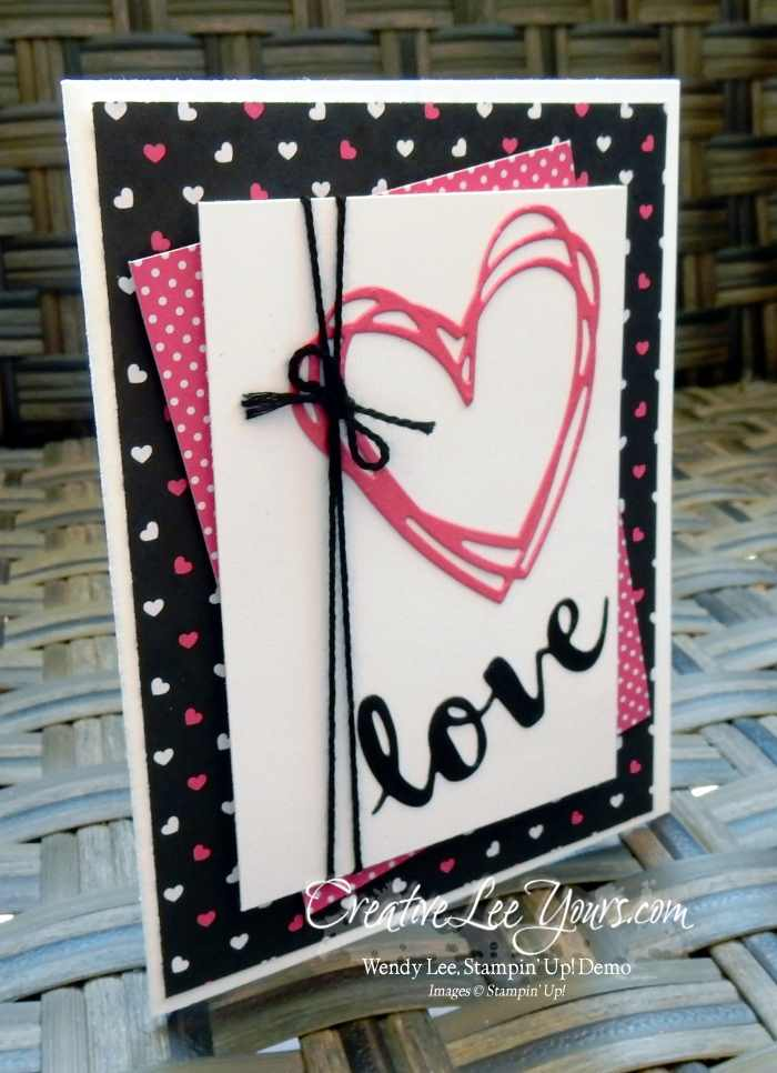 Love Wishes by Wendy Lee, Stampin Up, Sunshine Sayings stamp set, Sunshine Wishes Thinlits, #creativeleeyours, Hand Made Cards, Pop of Pink DSP
