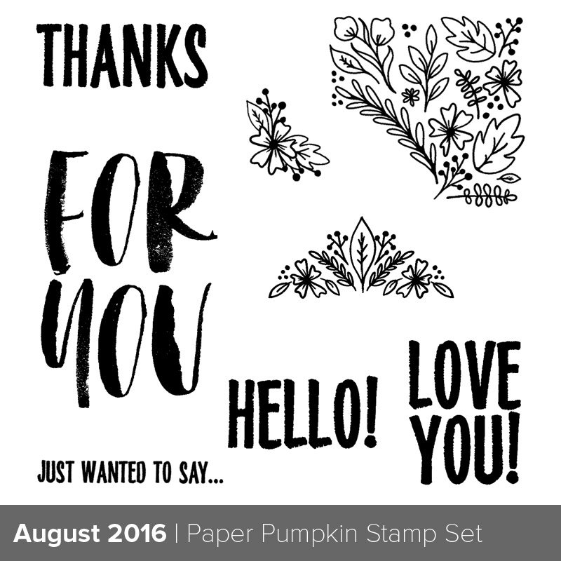 aug 2016 pp kit, stampin up