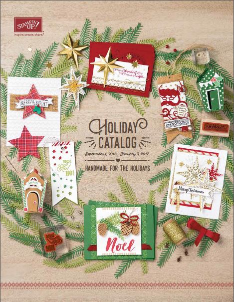 Stampin' Up! 2016 Holiday catalog, wendy lee, christmas, nad made cards, #creativeleeyours