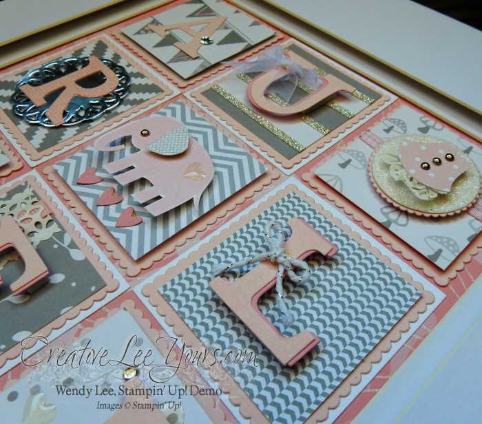 Wallart by Wendy Lee, Stampin Up, Home Decor, #creativeleeyours
