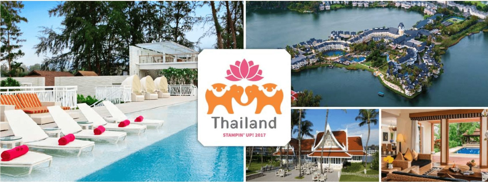 thailand 2017 Stampin up incentive trip