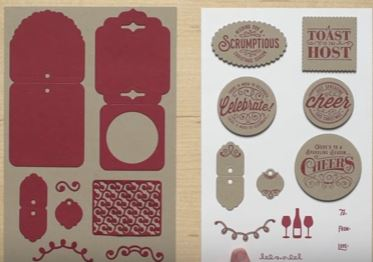 Here's to Cheers & Cheerful Tags Framelits, Stampin Up!, #creativeleeyours, Wendy lee