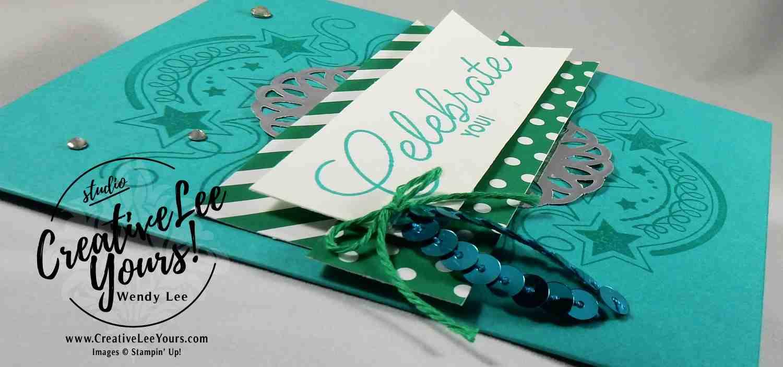 Celebrate You by Wendy Lee, Stampin Up, Birthday Blast stamp set, #creativeleeyours, diemonds team meeting