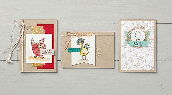 Hey Chick stamp set, SAB 2017 with Wendy Lee, Stampin' Up!, #creativeleeyours, promotion