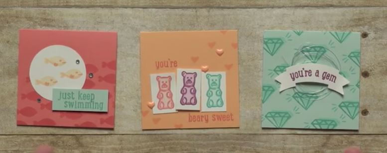 ombre pads with Wendy Lee, Stampin Up, Video, #creativeleeyours, creatively yours