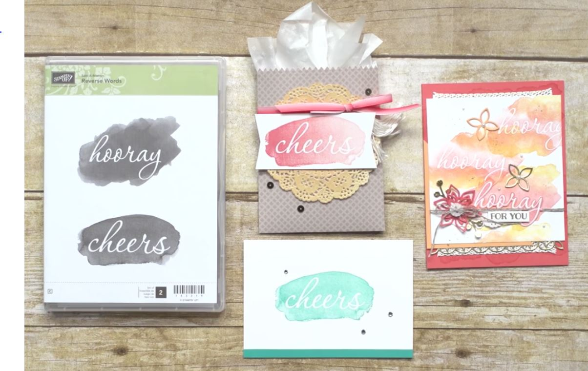 reverse words stamp set, Stampin Up, #SAB2017, Wendy Lee, #creativeleeyours, Creatively Yours