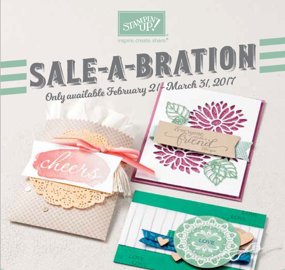 sale a bration 2nd release, Stampin Up, #SAB2017, Wendy Lee, #creativeleeyours, Creatively Yours