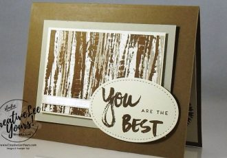 Best Dad by Wendy Lee, April Paper Pumpkin kit A sara thing, Stampin up, #creativeleeyours, creatively yours, father day card, tie dyed stamp set, May 2017 FMN class, stitched shapes framelits
