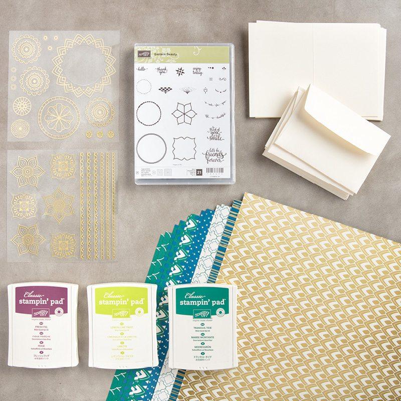 Eastern Palace starter bundle, Stampin Up, Wendy lee, #creativeleeyours