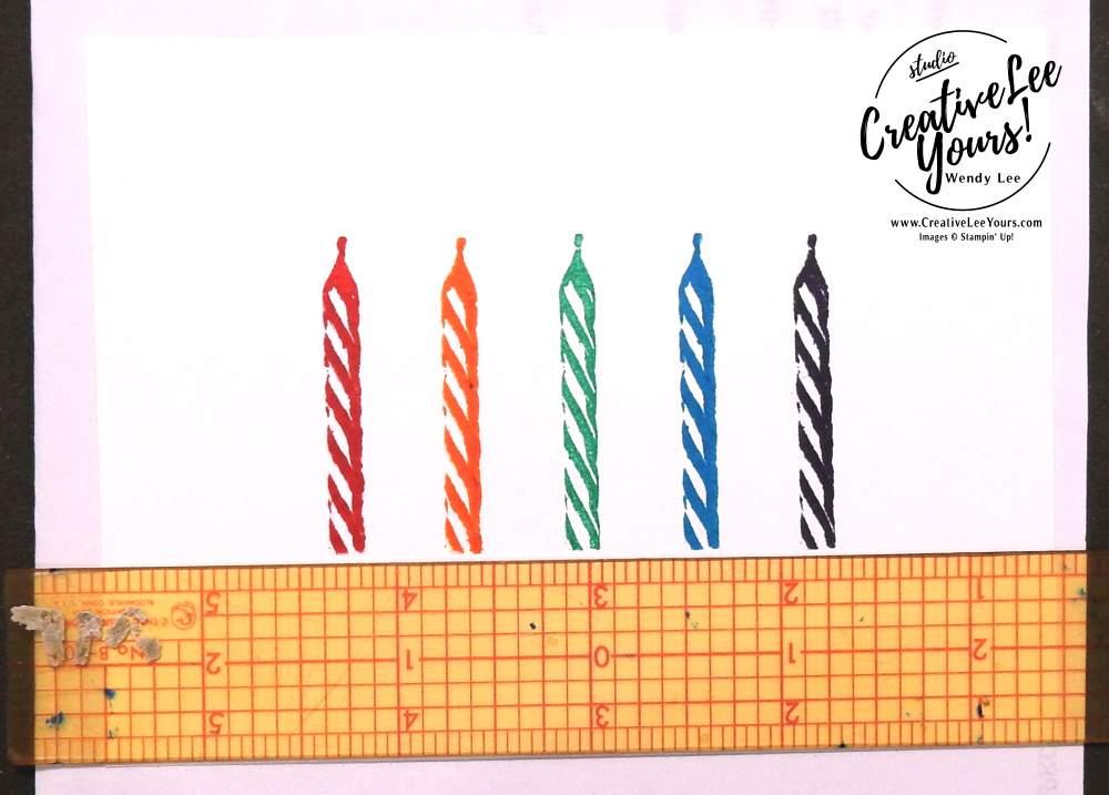 Big Wish Birthday by Wendy Lee, kylie bertucci top ten winners blog hop, wendy lee,#creativeleeyours, stamping, Stampin Up, sweet cupcake stamp set, number of years stamp set, cupcake cutout framelits