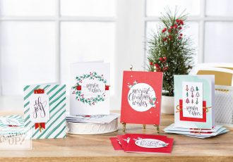 Watercolor Christmas Card Class with wendy lee, stampin up, stamping, rubber stamps, watercolor christmas card kit,watercolor christmas stamp set, handmade easy christmas cards