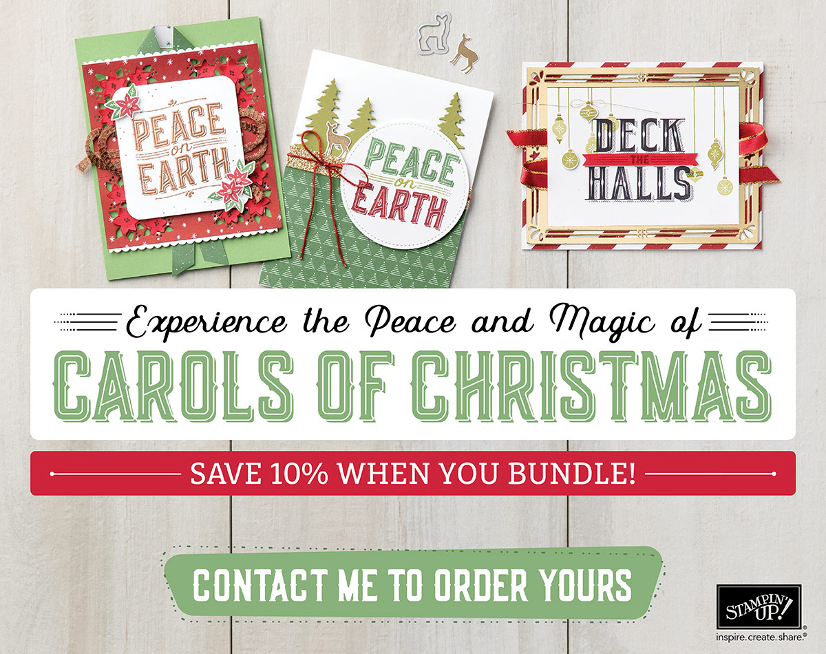 Carols of Christmas Bundle, Stampin Up, #creativleeyours, wendy lee, rubber stamps, stamping, early release, holiday crafts