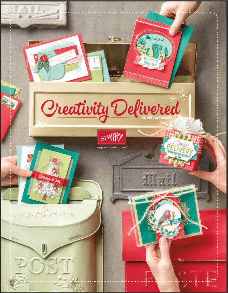 2017 Stampin Up Holiday catalog with wendy lee, #creativeleeyours, rubber stamps, holiday packaging, holiday treats, halloween, christmas, thanksgiving, fall, handmade, treats, stamping