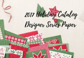 2017 holiday catalog designer paper share with Wendy Lee, stampin up, papercrafting, #creativeleeyours,creativelyyours