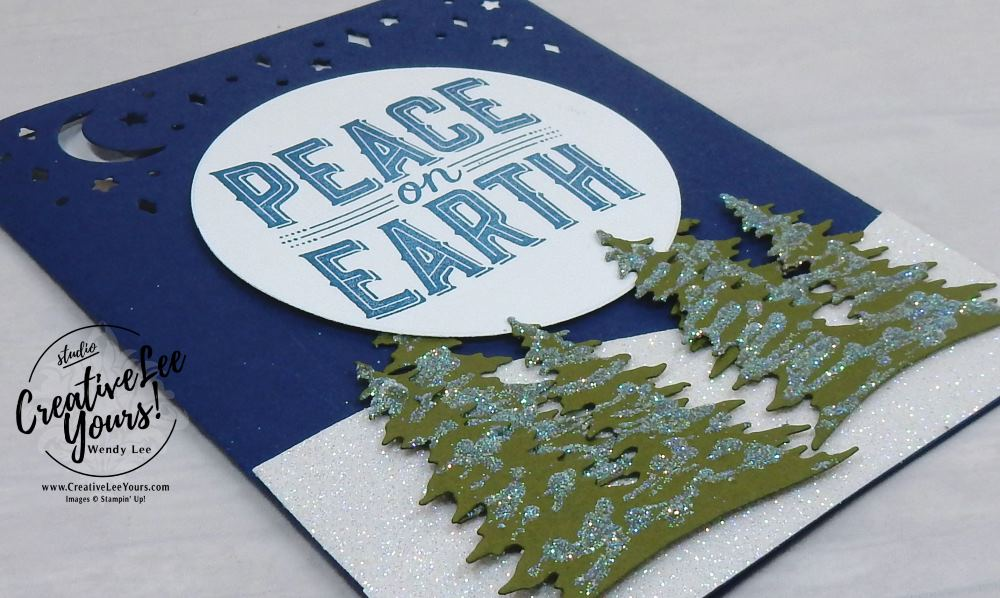 Peace on Earth by Betsy Batten,stampin Up, #creativeleeyours, creatively yours, wendy lee,diemonds team swap, holiday card ,handmade,stamping, carols of christmas stamp set, card front builder thinlits