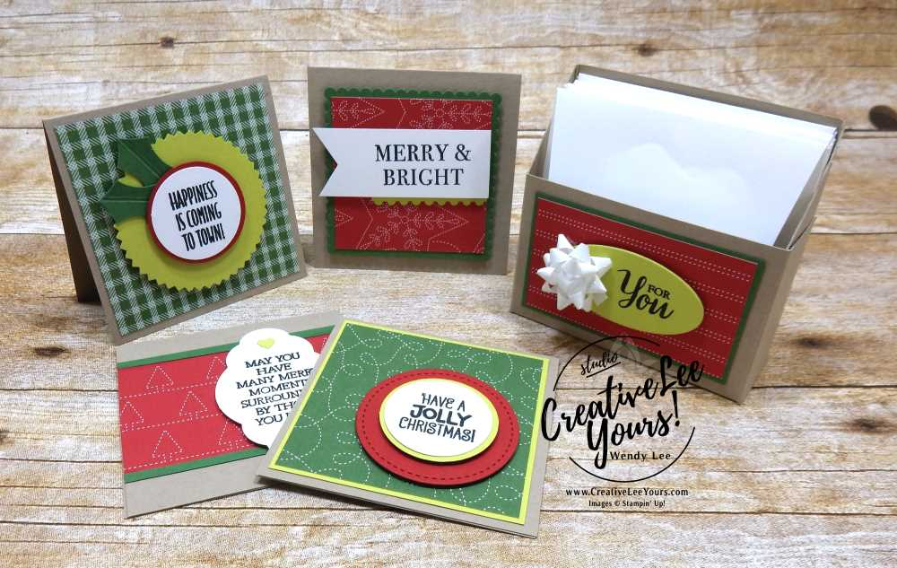 Cute Holiday Gift Cards with Wendy Lee, #WCMD2017 atlanta, christmas gift, handmade, stamping, quilted, santa's suit stamp set, smitten mitten stamp set, hearts come home stamp set, so many shells, hang your stocking stamp set