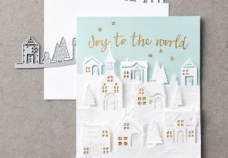 Hearts Come Home Bundle with Wendy Lee, Stampin Up, #creativeleeyours, winter, christmas, handmade cards, stamping, big shot, hearts come home stamp set, hometown greeting edgelits