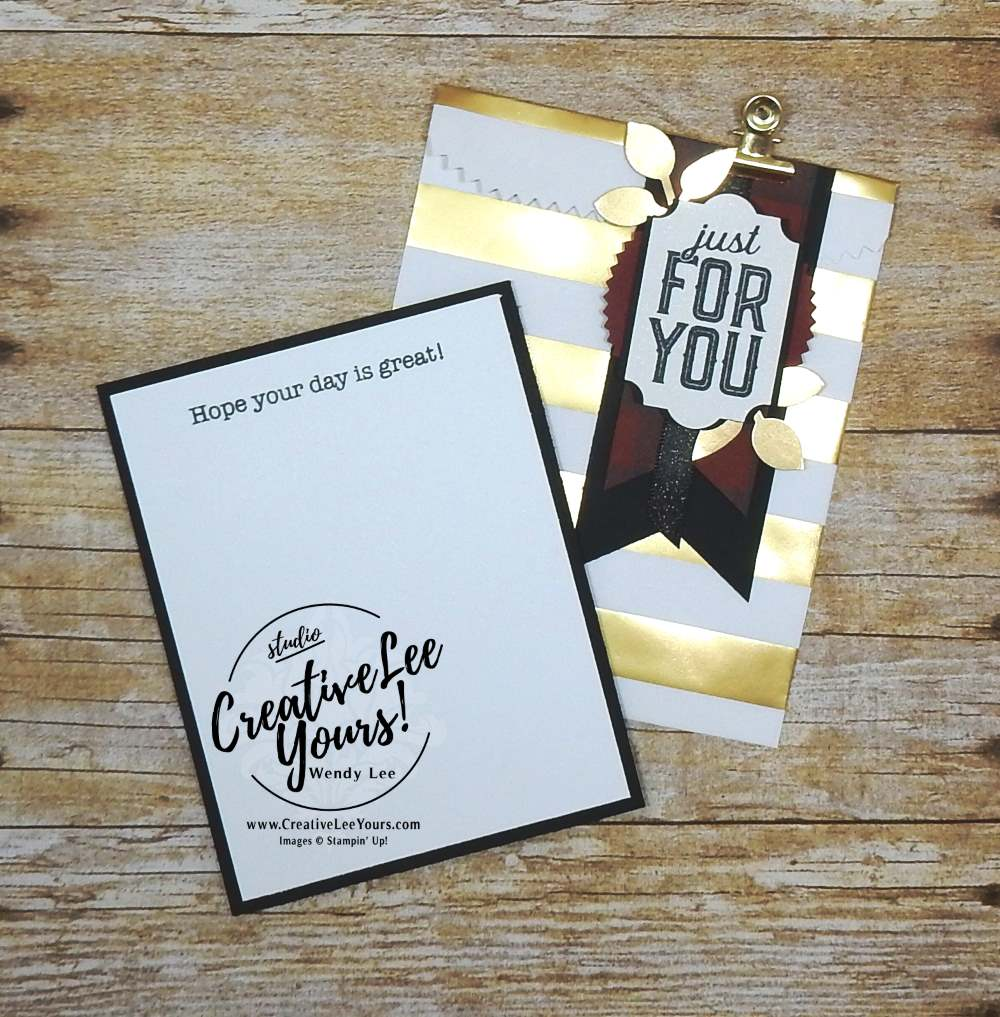 Brayered Masculine Gift Card Holder by Wendy Lee,stamping, handmade,soft sayings card kit,merry little labels stamp set,december 2017 fmn class,#creativeleeyours, creatively yours,stampin up, birthday