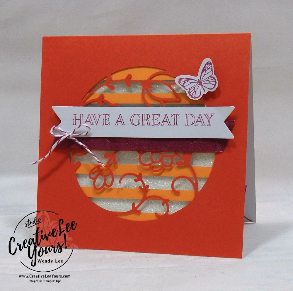 December 2017 Paper Pumpkin Flora and Flutter Kit by Wendy Lee,stampin up, handmade cards, rubber stamps, stamping, kit, subscription, floral cards