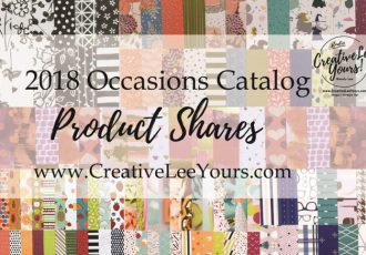 2018 Occasions catalog designer paper share, ribbon share, Wendy Lee, stampin up, papercrafting, #creativeleeyours,creatively yours