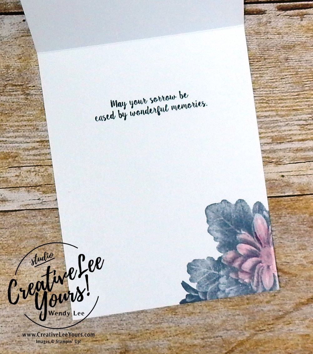Heartfelt Thoughts by wendy lee,Kylie's International Highlights Winners Blog Hop, stampin up,#creativeleeyours,creatively yours, SAB,sale-a-bration,heartfelt blooms stamp set, FREE stamps,stamping, handmade, flowers,watercoloring