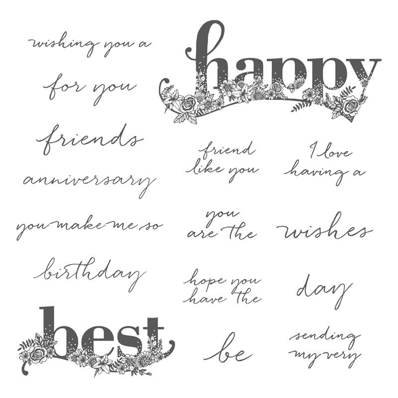 happy wishes stamp set with wendy lee, #creativeleeyours, creatively yours, stampin Up, stamping, handmade, stamp set, sale-a-bration, SAB, video