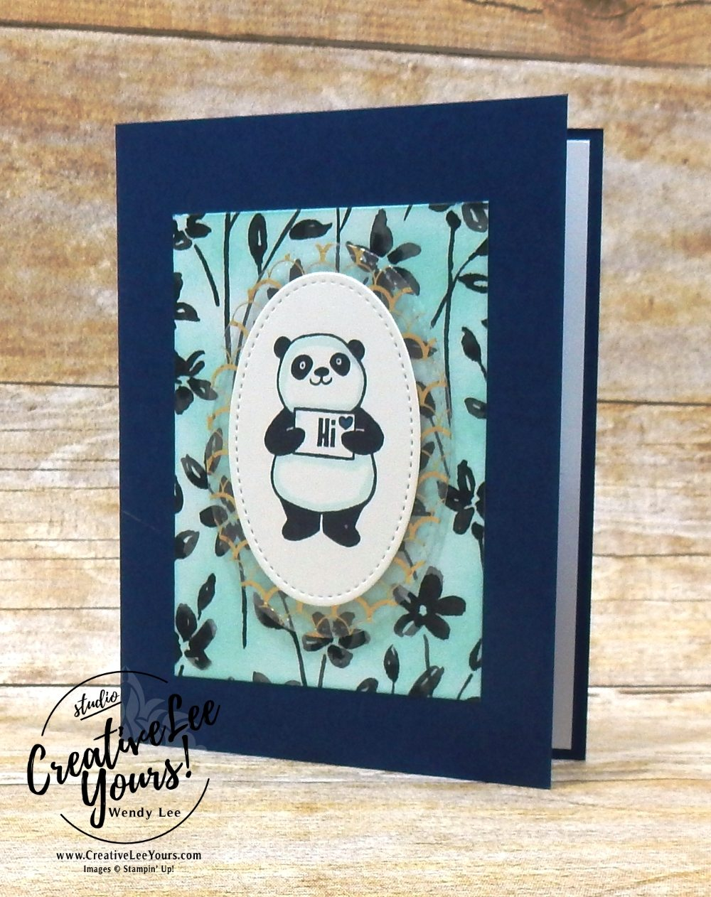 Happy Panda by Belinda Rodgers,Wendy lee, Stampin Up, stamping, hand made, friend, teacher appreciation, secretaries day, birthday,mothers day,#creativeleeyours, creatively yours, creative-lee yours,diemonds team swap, SAB, Sale-a-bration,party panda stamp set, happy wishes stamp set,FREE stamps,SU,SU cards,rubber stamps
