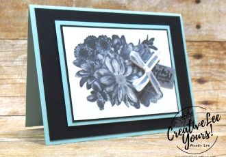 Shimmery Blooms by Stephanie Daniel,wendy lee, stampin up, stamping, heartfelt blooms stamp set, SAB,Sale-a-bration,handmade,wood words stamp set, SU,#creativeleeyours, creatively yours,creative-lee yours, SU cards,diemonds team swap