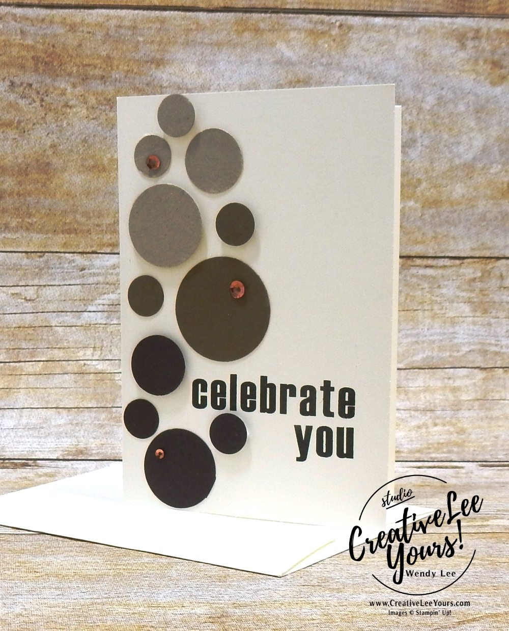 Celebrate You by Wendy Lee,February 2018 Paper Pumpkin Wildflower Wishes Kit,wendy lee,Stampin up, stamping, handmade, cards, #creativeleeyours, creatively yours, creative-lee yours,March 2018 FMN class bonus card,quick and easy, masculine card,fathers day, birthday,SU,SU cards