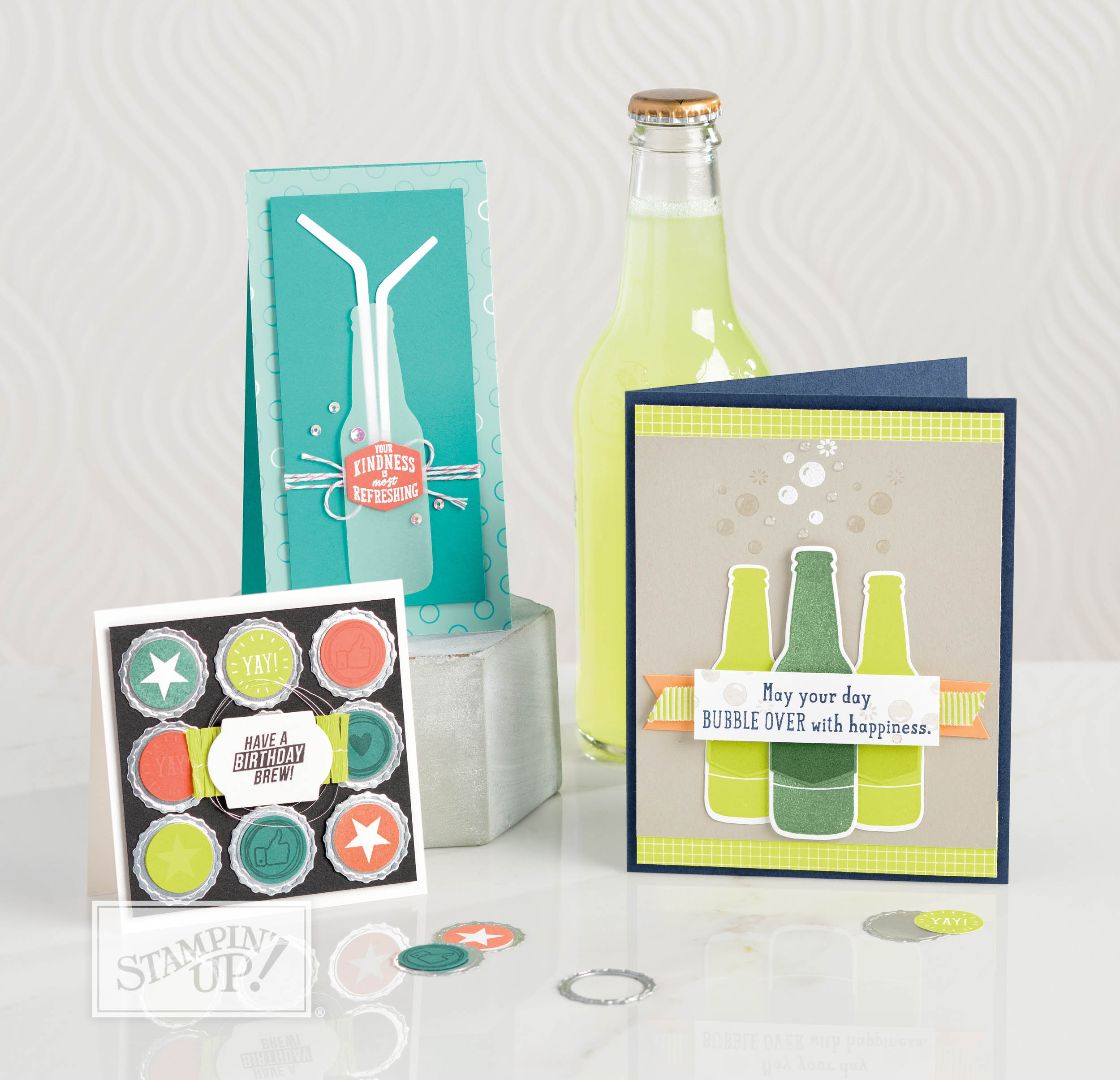 The Bubbles & Fizz Designer Series Paper video with wendy lee,stampin up, Bubble Over Stamp Set,stamping,handmade,#creativeleeyours,creative-lee yours, creatively yours,SU,SU cards,SAB,sale-a-bration,free paper,Bubbles Framelits Dies