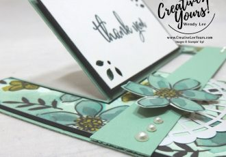 Go For Greece blog hop, kylie bertucci, cardmaking, handmade card, rubber stamps, stampin, stampin up, wendy Lee, #creativeleeyours, creatively yours, creative-lee yours, SU, SU cards, incentive trip, impossible fun fold, love what you do stamp set, , share what you love, promotion, thank you