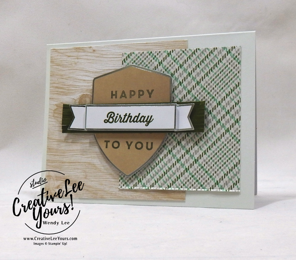 May 2018 Manly Moments Paper Pumpkin Kit by wendy lee, stampin up, handmade cards, rubber stamps, stamping, kit, subscription, birthday, thank you, congrats, friend, #creativeleeyours, creatively yours, creative-lee yours, SU, SU cards, alternate, alternate, gift card holder, landscape,masculine, alternate